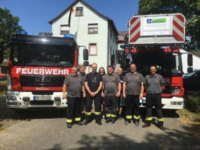 Einsätze 39 bis 43 - erschiedene Dienste 100 Jahre Freiwillige Feuerwehr Mauer