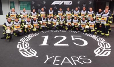 Einsatz Nr.50 - Sicherheitswachdienst Formel 1 Tag III Boxengasse Hockenheim