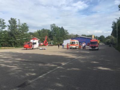 Einsatz Nr. 52 - Tragehilfe für Rettungsdienst Bergstraße