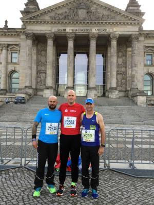 Foto zur Meldung: Berliner Marathon mit starken Leistungen