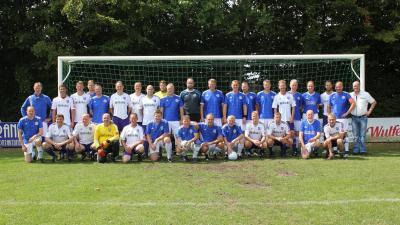 Vorschaubild zur Meldung: Traditionsmannschaft des VFL Osnabrück zu Gast bei der SG Voltlage