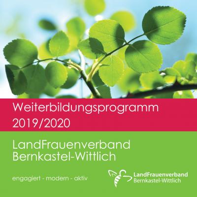 Foto zur Meldung: Hier finden Sie unser neues Weiterbildungsprogramm 2019/2020 als Download