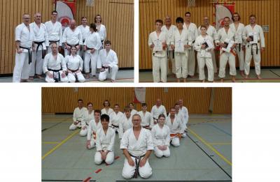 Vorschaubild zur Meldung: Traditioneller Shotokan-Lehrgang in Großschönau