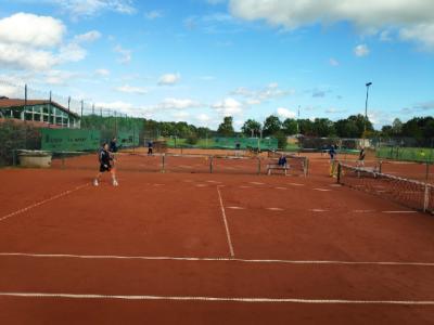 Foto zur Meldung: Tennis-Familienfest mit Rekordbeteiligung