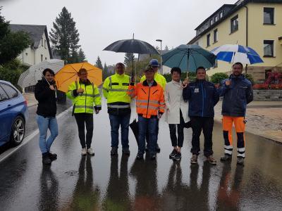 Vorschaubild zur Meldung: Lamnitzer Straße wieder befahrbar