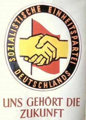 Plakat aus der DDR