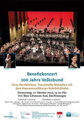 Vorschaubild zur Meldung: Benefizkonzert in Bad Kissingen: 100 Jahre Volksbund