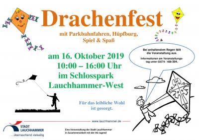 Foto zur Meldung: Drachenfest im Schlosspark