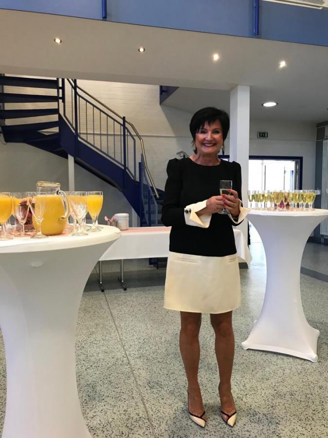Bild der Meldung: Rektorin Claudia Christel verabschiedet