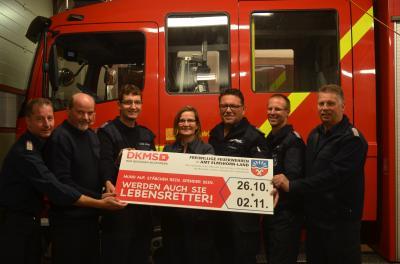 Ziehen an einem Strang: Die sieben Feuerwehren aus dem Amt Elmshorn-Land