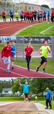 Foto zur Meldung: Sportabzeichen -Tag war einfach toll