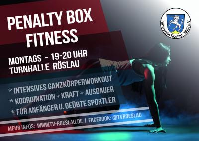 Foto zur Meldung: NEU: Penalty Box Fitness beim TV Röslau ab 21.10.2019