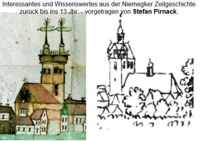Vorschaubild zur Meldung: Niemegk - Karten, Kirchen und Kapellen