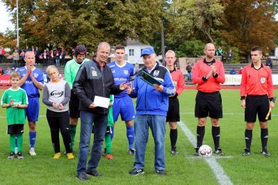 Foto zur Meldung: Der TSV 1919 Leuna feiert seinen 100. Geburtstag