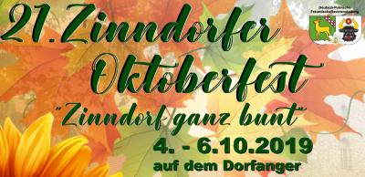 Vorschaubild zur Meldung: Das 21. Zinndorfer Oktoberfest 2019 war Klasse! Dank für drei tolle Tage in Zinndorf.