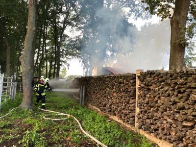 Foto zur Meldung: Zwei Feuerwehr-Einsätze an einem Tag
