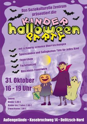 Vorschaubild zur Meldung: Kinder-Halloween-Party am 31.10.2019 ab 16 Uhr