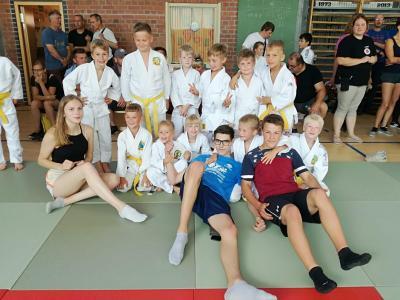 Foto zur Meldung: Judo-Safari 2018: Sonnige Tage in Prerow