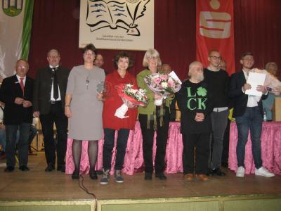 """Vorschaubild zur Meldung: Verleihung des Nordhessischen Literaturpreises """"Holzhäuser Heckethaler"""""""