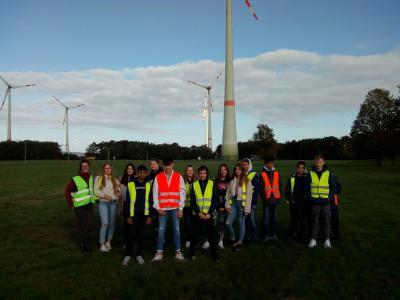 Schülerinnen und Schüler zu Besuch bei den Saerbecker Energiewelten