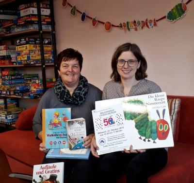 """Vorschaubild zur Meldung: Feiern, tauschen, schenken und gewinnen  Die Kyritzer Stadtbibliothek begeht den """"Tag der Bibliotheken"""""""