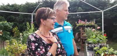 Foto zur Meldung: Nachlese: Erinnerung an einen wunderbaren Gartentag in Brüsenhagen