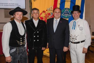 Bild mit ZDH Präsident