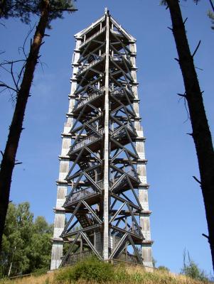 Foto zur Meldung: 3. Tag: Ein hölzerner Aussichtsturm und weitere Privatgärten