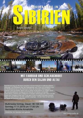 Foto zur Meldung: Bikerafting in Sibirien: Mit Fahrrad und Schlauchboot durch den Sajan und Altai