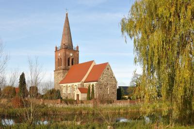 Marxdorfer Kirche, Foto: Matthias Lubisch