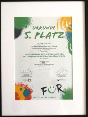 Vorschaubild zur Meldung: Gemeinsam FÜR Potsdam erfolgreich abgeschlossen