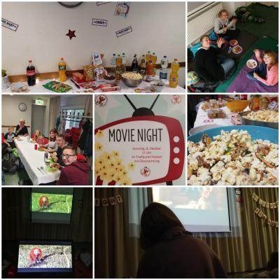 Foto zur Meldung: Lange Movie Night mit Zuckerschock und überraschenden Erkenntnissen