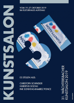 Vorschaubild zur Meldung: Wächtersbacher Kunstsalon vom 19. Bis 27. Oktober im Kulturhaus Aufenau