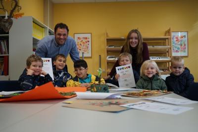 Foto zur Meldung: Kreativ-Wettbewerb an der Anne-Frank-Realschule