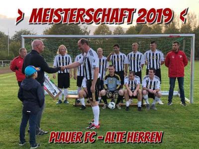 Foto zur Meldung: Alte Herren / Meisterschaftstitel 2019