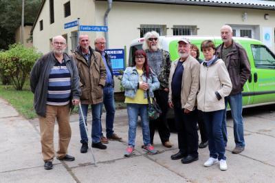 Foto zur Meldung: Führung durch Tierheim und Gnadenhof