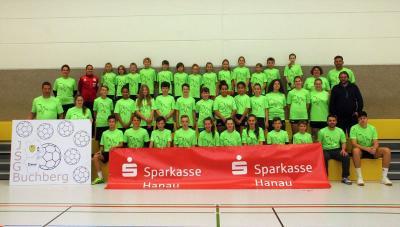Foto zur Meldung: JSG Buchberg Handballcamp - Technische und taktische Ratschläge