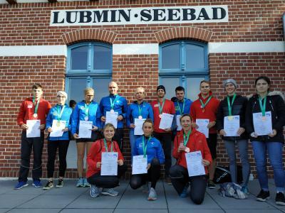 Foto zur Meldung: Medaillenregen in Lubmin