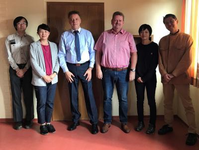 Vorschaubild zur Meldung: Besuch aus Japan