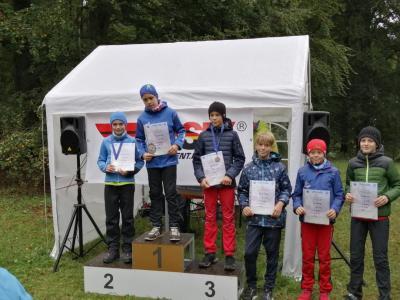 Foto zur Meldung: Herbstcrosslauf des SV Medizin Bad Liebenstein