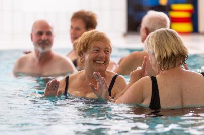 Vorschaubild zur Meldung: Wassergymnastik am Donnerstag startet im November