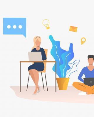 Bild der Meldung: Kurze Kommunikationswege helfen Bewerbungsprozesse zu vereinfachen.