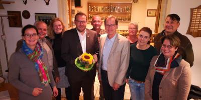 v.l.: Veronika Koch, Reinhard Schmidt, Elisabeth Heister-Neumann, Gero Janze, Klaus Grudke, Gregor Nitschke, Iris Paulmann, Nicole Jonas, Fred Worch und Britta Michel.