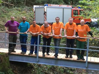 Vorschaubild zur Meldung: Neubau der Endertbrücke in Auderath