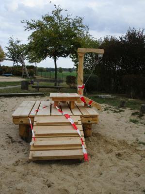Vorschaubild zur Meldung: Neues Spielobjekt für die Kleinsten in Velpke