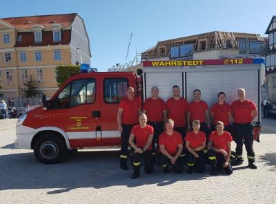 Foto zur Meldung: Ortsfeuerwehr Wahrstedt fährt zum Landesentscheid nach Hannover