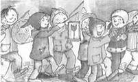 Vorschaubild zur Meldung: Laternenumzug in Kaltensondheim