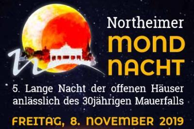 Vorschaubild zur Meldung: Freitag, 8. November > Northeimer Mondnacht