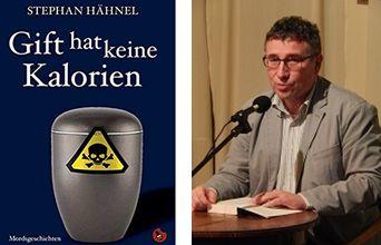 """Unser Bild zeigt Stephan Hähnel, der aus seinem Buch """"Gift hat keine Kalorien"""" vorlesen wird."""