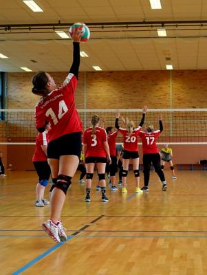 Foto zur Meldung: Erster Spieltag der Damen in der Landesklasse-Ost fordert hohen Kampfgeist